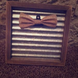 Wood/metal picture frame